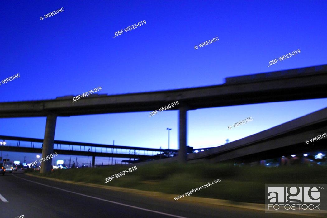Stock Photo: Transport, bridge, viaduct.