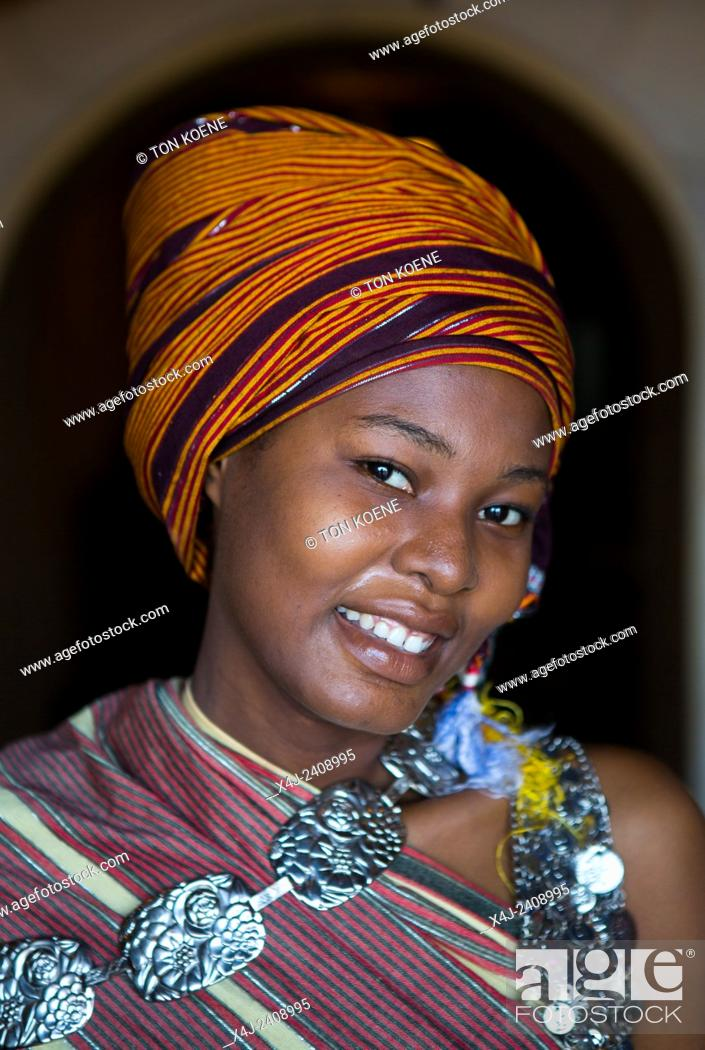Photo de stock: Miriam Hamid, young woman from Zanzibar.