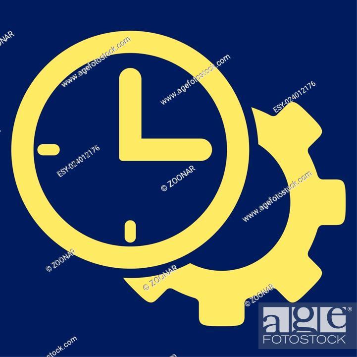 Stock Photo: Time Setup Icon.