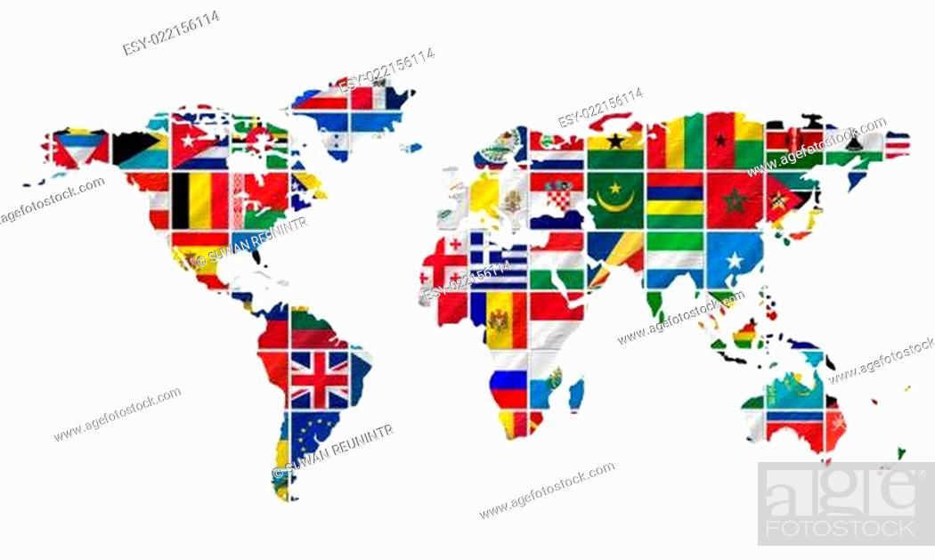 Imagen: Complete set of Flags.