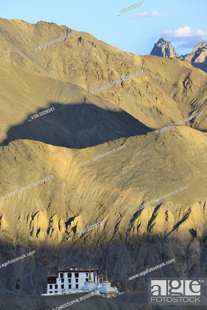 Imagen: India, Jammu & Kashmir, Ladakh, Lamayuru monastery.