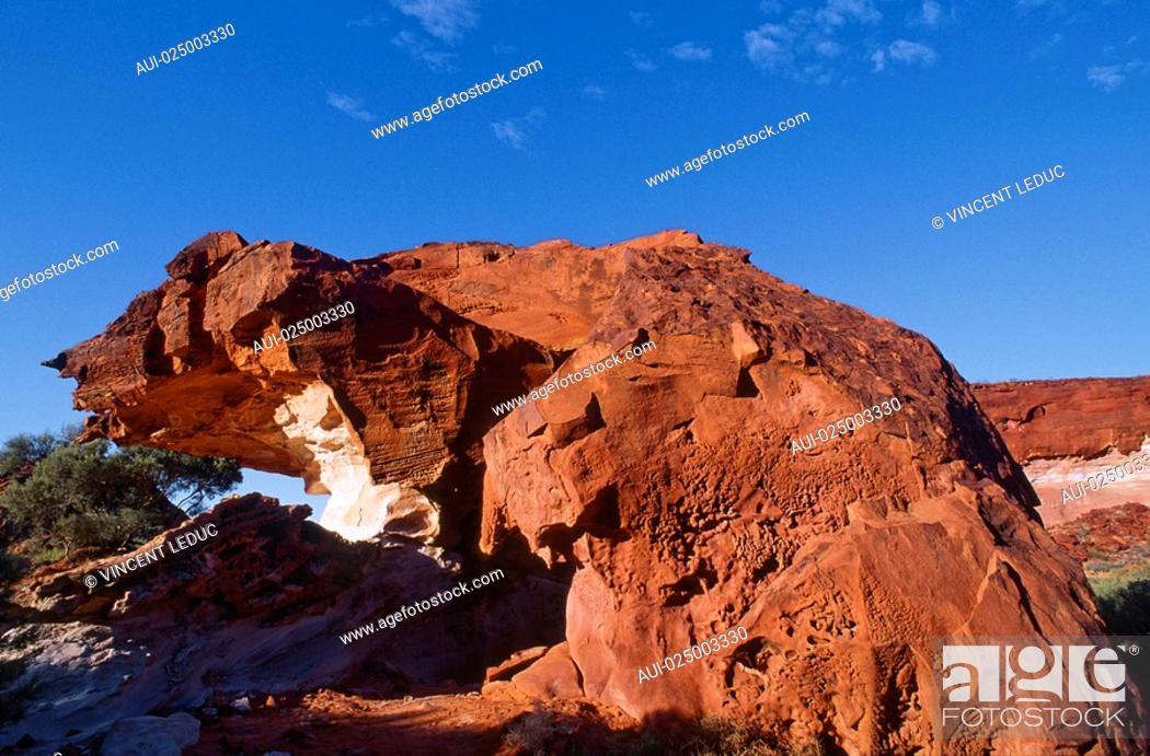 Stock Photo: North - Rainbow Valley.