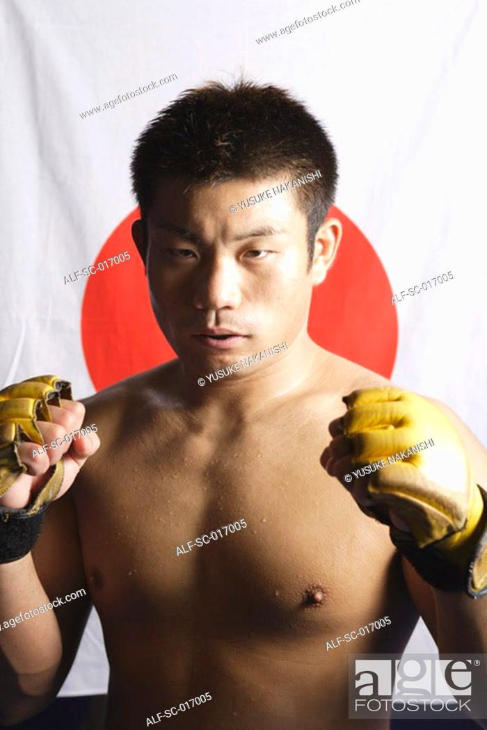 Stock Photo: Fighters portrait.