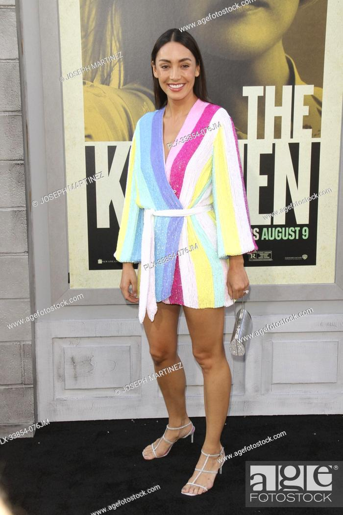 """Stock Photo: Carolina Guerra at Warner Bros. Pictures' """"""""The Kitchen"""""""" Premiere held at the TCL Chinese Theatre, Los Angeles, CA, August 5, 2019."""