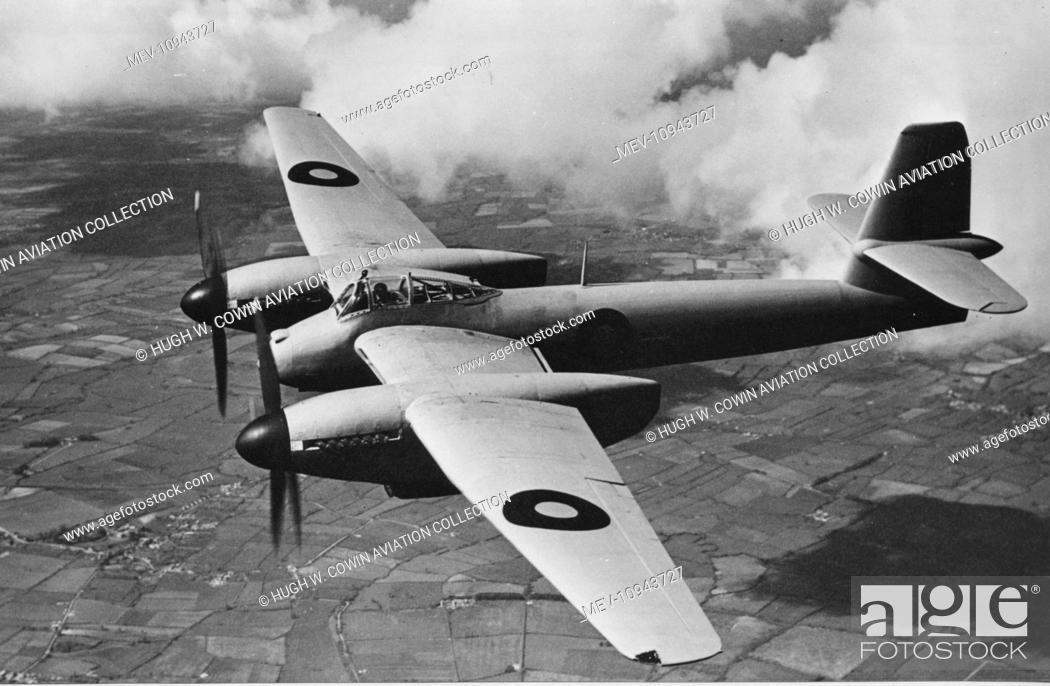 Stock Photo: Westland Welkin I -designed as a high altitude interceptor First flown in November 1942, it entered service in May 1944 after the need for it had evaporated.