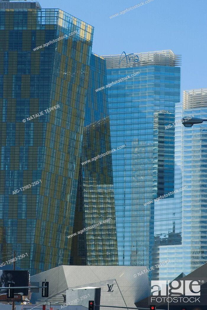 Stock Photo: City Center, Las Vegas.