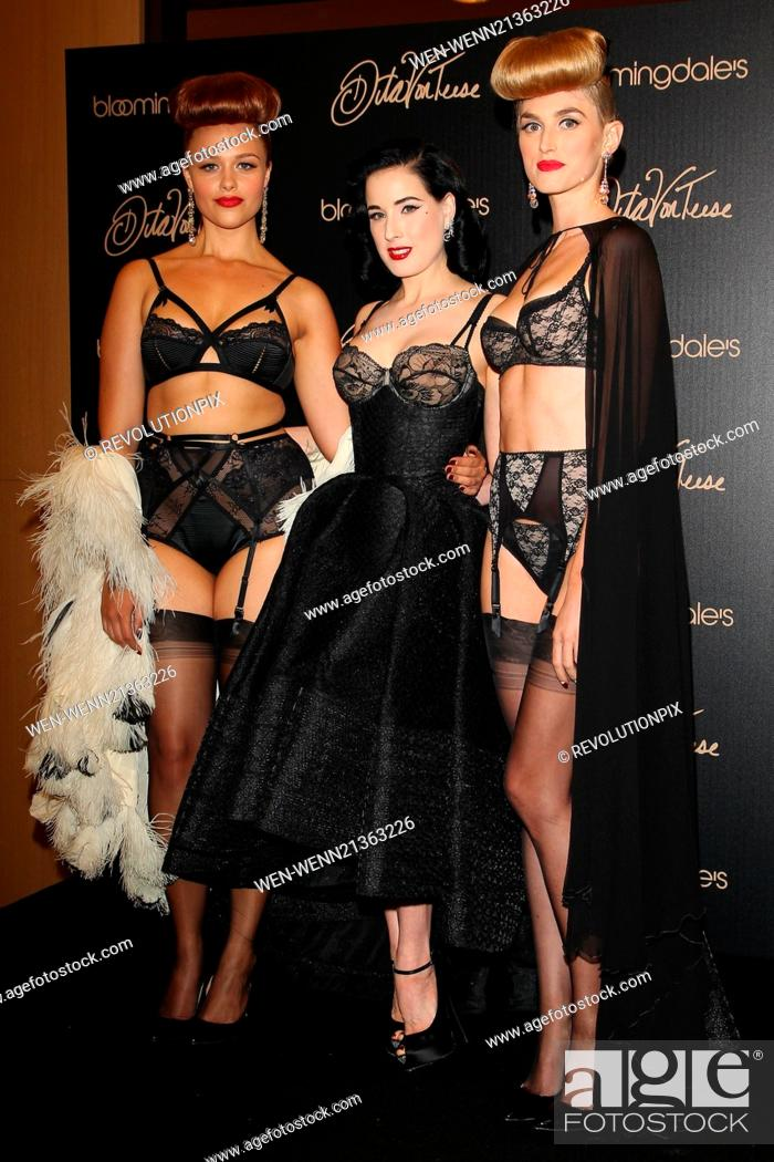 8abeada9cba8 Stock Photo - Dita Von Teese launches her new lingerie collection