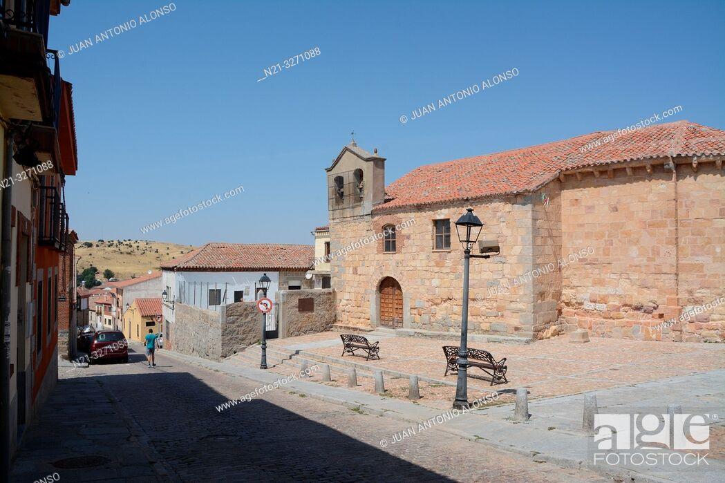 Imagen: Ermita de San Esteban. Avila, Castilla-Leon, Spain, Europe.