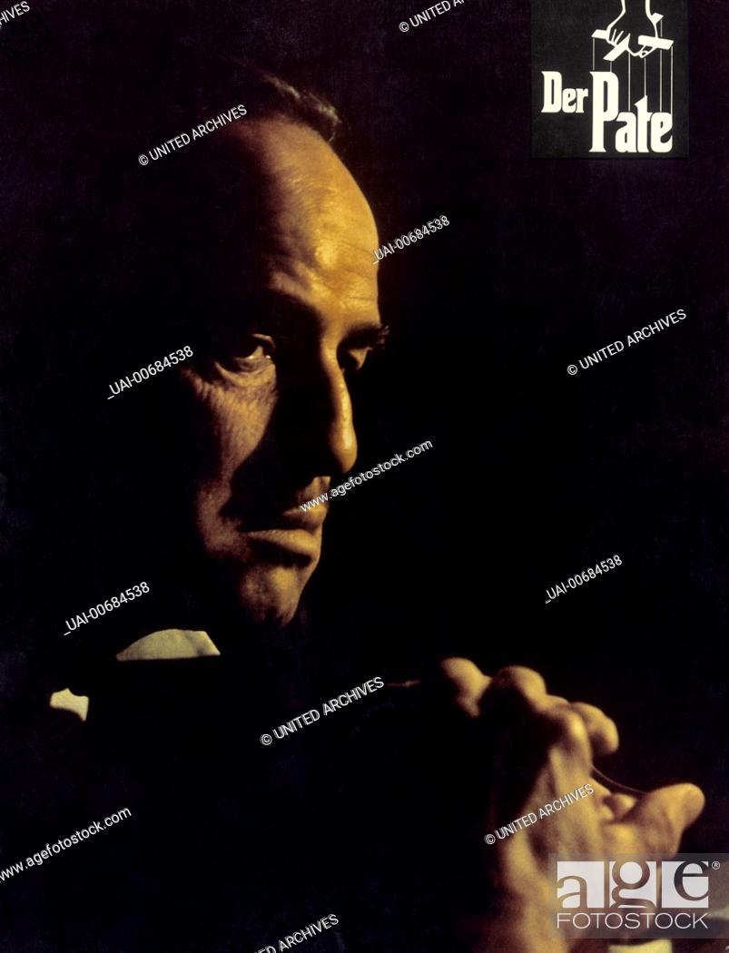 Marlon Brando Mafia Boss Don Vito Corleone Regie Francis