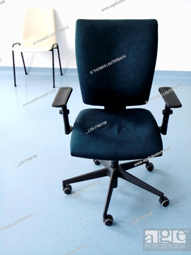 Stock Photo: Office chairs.
