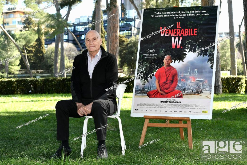 Imagen: Director Barbet Schroeder presents his film Le vénérable W. at the Casa del Cinema in Rome. Italy 15-03-2019.