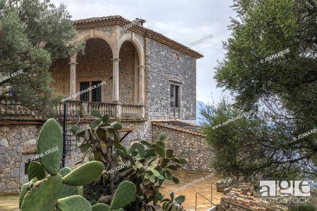 Stock Photo: Son Marroig, Deia, Mallorca, Balearic Islands, Spain, Europe.