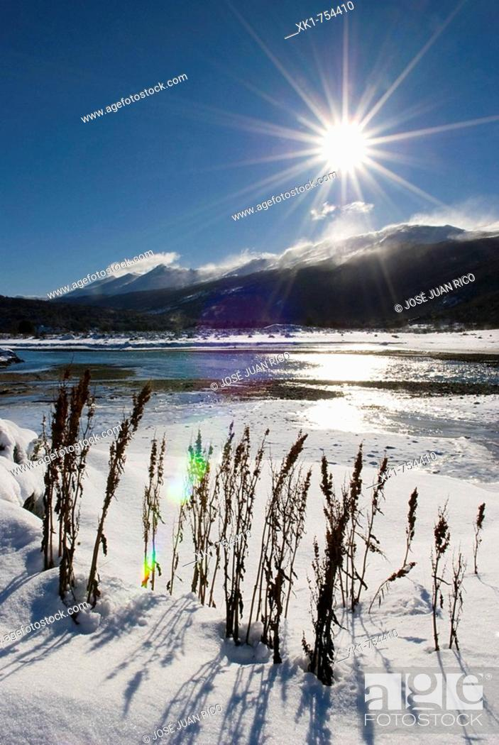 Stock Photo: Tierra del Fuego National Park, Argentina.