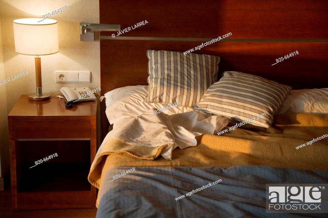 Stock Photo: Hotel room.