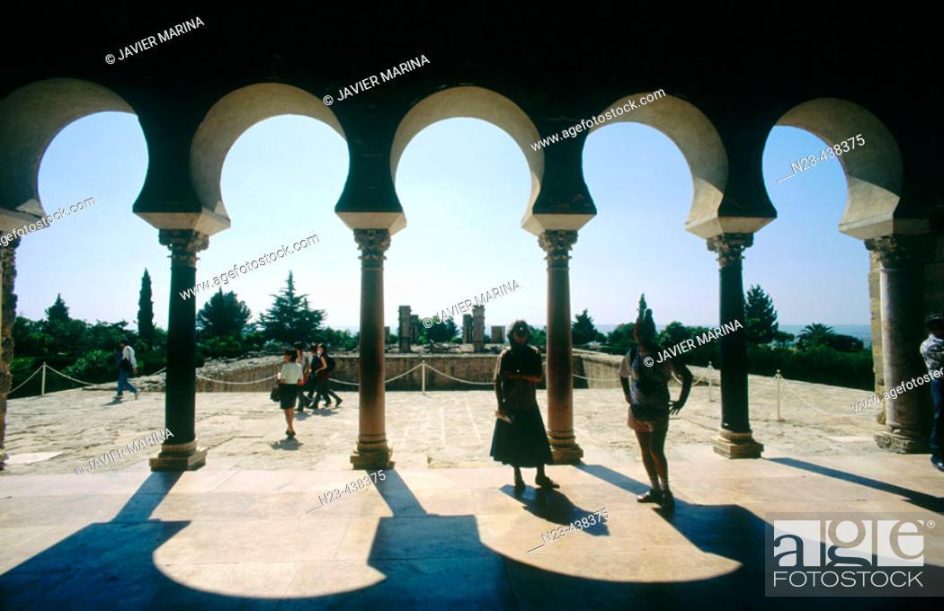 Stock Photo: Ruins of Medina Azahara, palace built by caliph Abd al-Rahman III. Córdoba province, Andalusia, Spain.