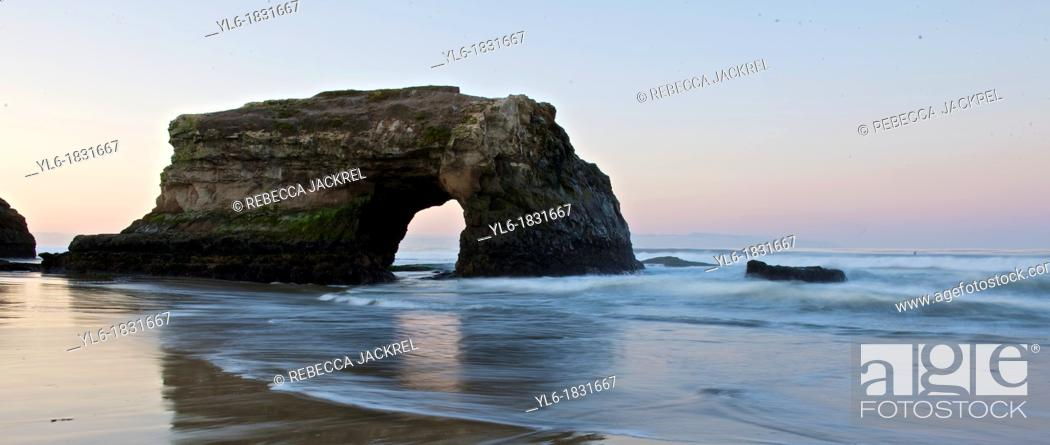 Stock Photo: Natural Bridges State Park, Santa Cruz, CA.