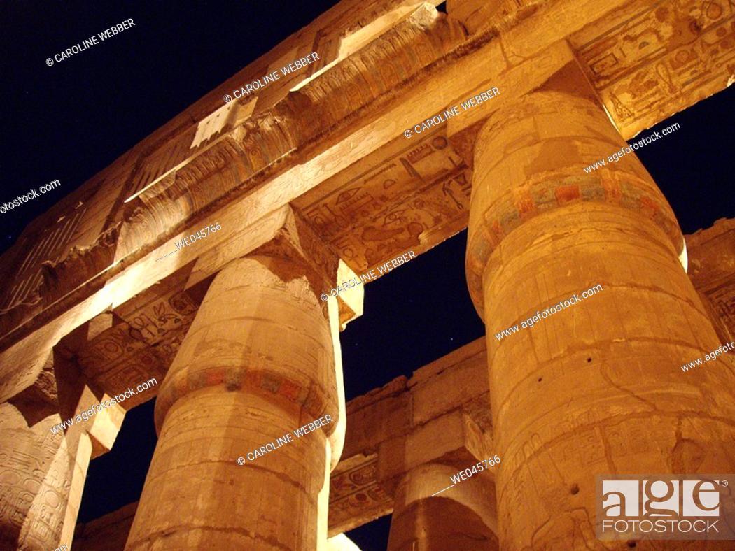 Stock Photo: Karnak Temple, Luxor.