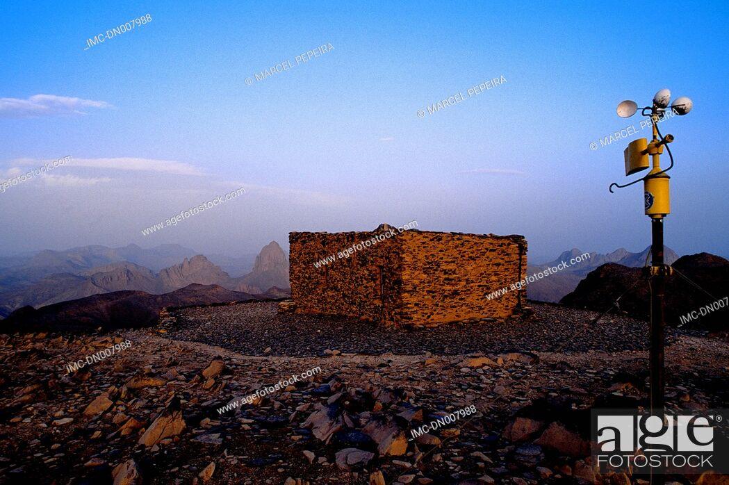 Stock Photo: Algeria, Hoggar, Atakor mountains, Assekrem col.
