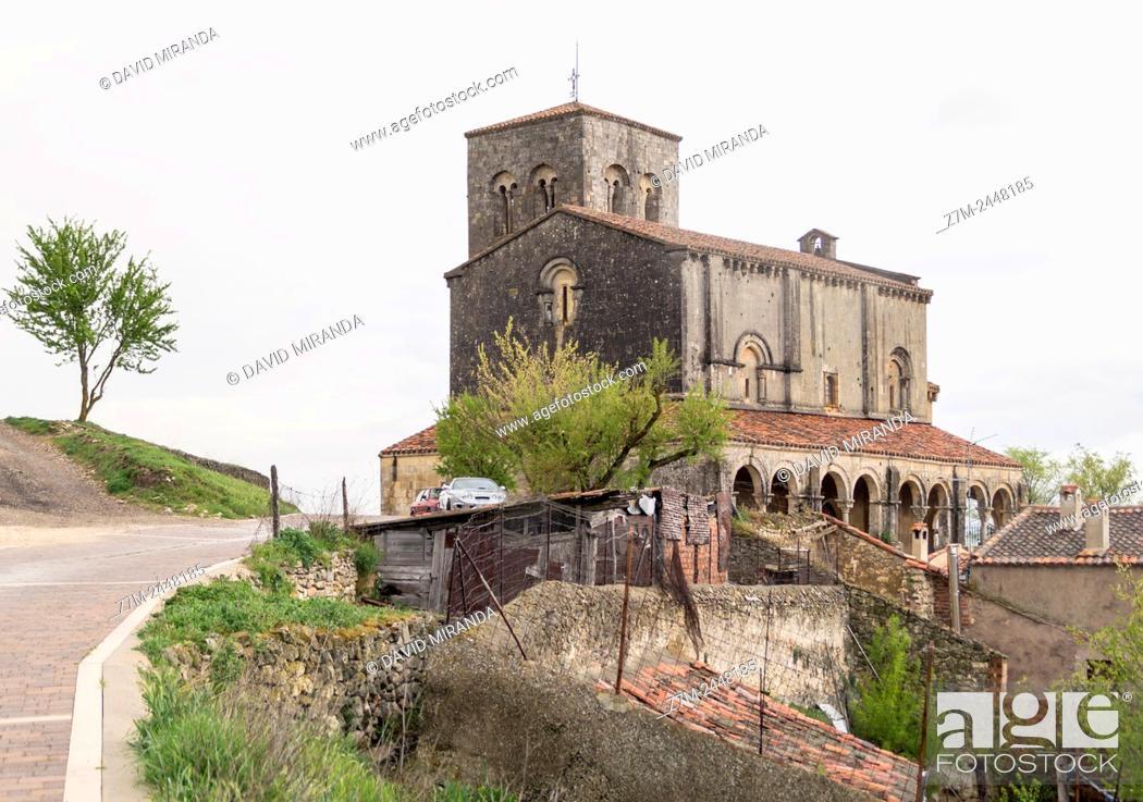 Imagen: Iglesia de San Salvador, Sepúlveda. Conjunto histórico. Segovia province. Castile-Leon. Spain.