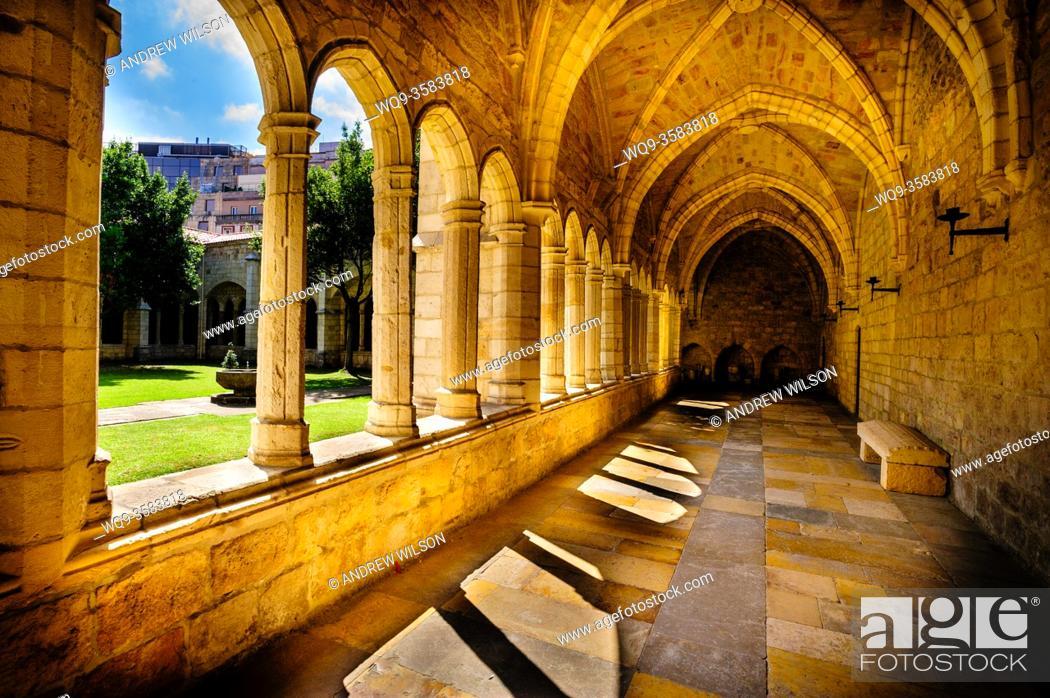 Stock Photo: Santander Cathedral, Spain.