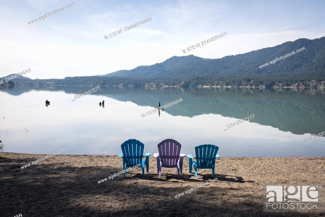 Stock Photo: Lake Serene.