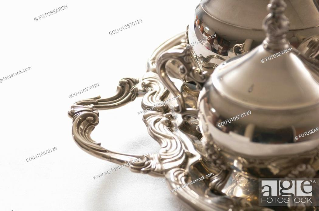 Stock Photo: Silver.