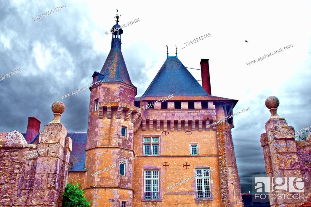 Imagen: france, loire castles : talcy castle.