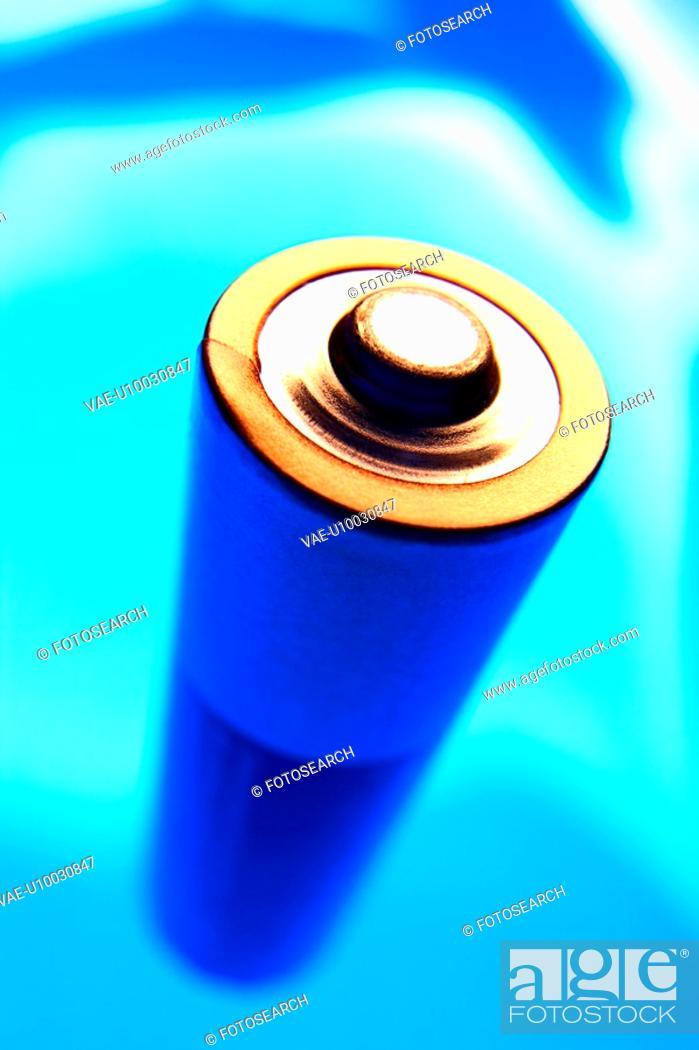 Stock Photo: AA size battery.