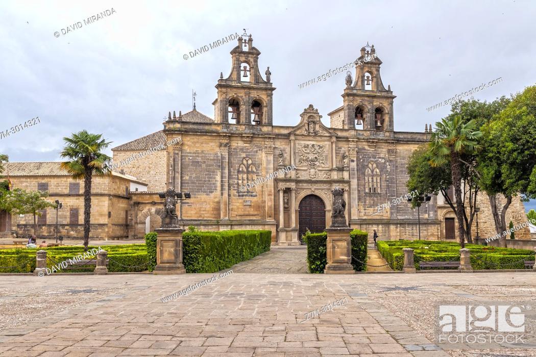 Imagen: Basílica de Santa María de los Reales Alcázares. Ubeda. Jaen Province. Andalusia. Spain.