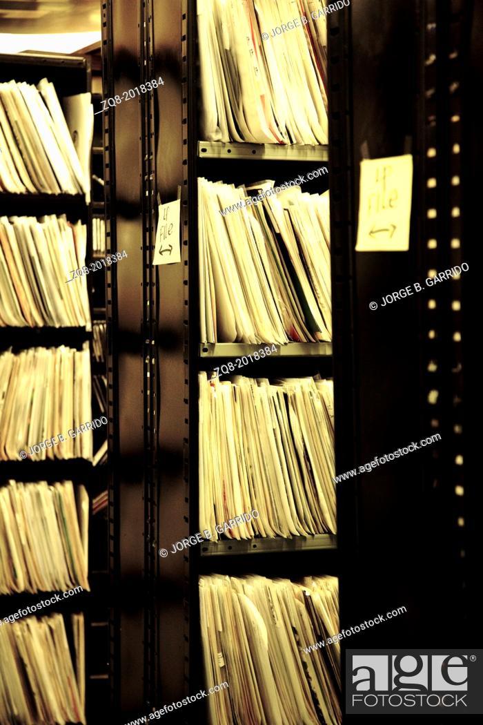 Photo de stock: Vinyl records shop. chicago.