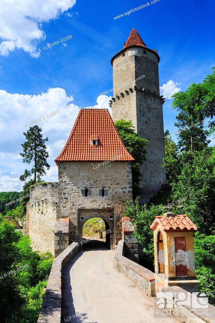 Stock Photo: Zvikov castle.