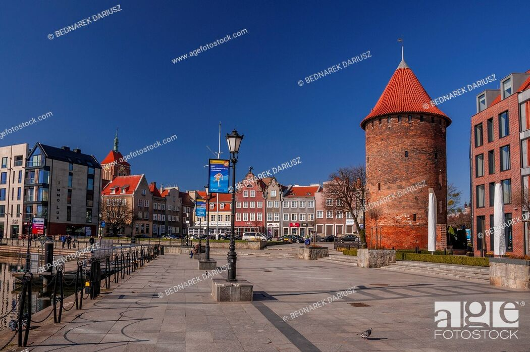 Imagen: Swan bastion. Gdansk, Pomeranian Voivodeship, Poland.