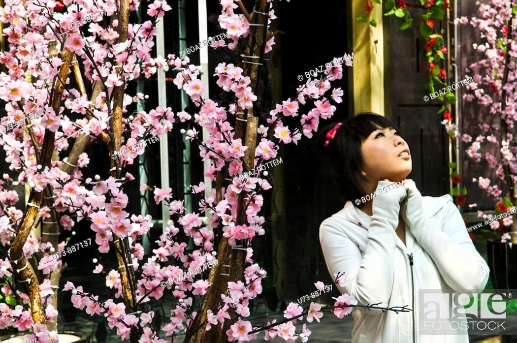 Stock Photo: A Chinese beauty.