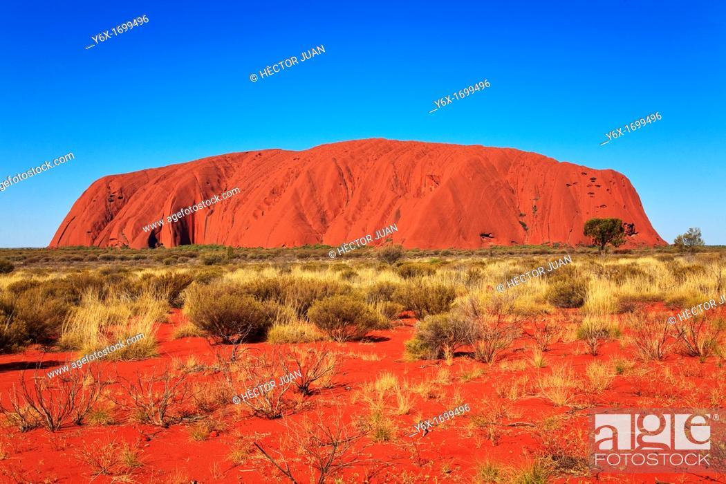 Stock Photo: Uluru Landscape.