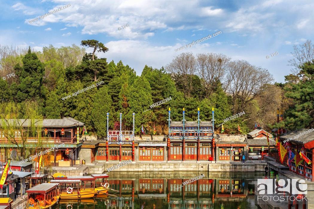 Stock Photo: Kuming Lake.