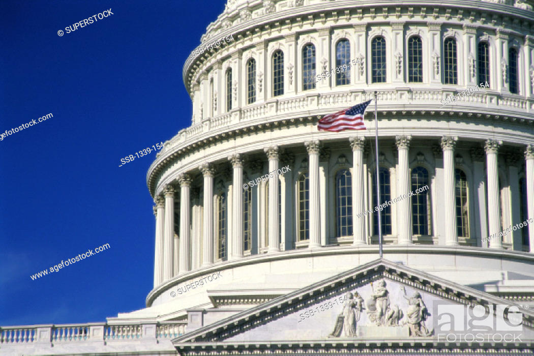 Stock Photo: Capitol Building Washington, D. C. USA.