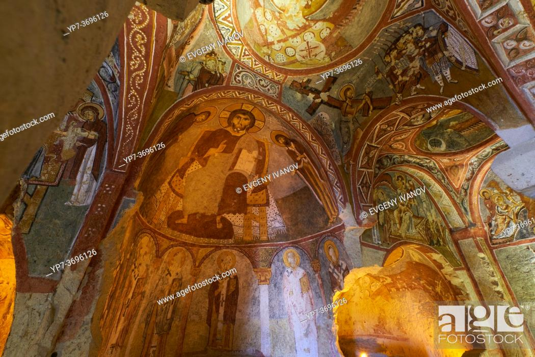 Imagen: Frescoes in Sandal Church, Goreme, Cappadocia, Turkey.