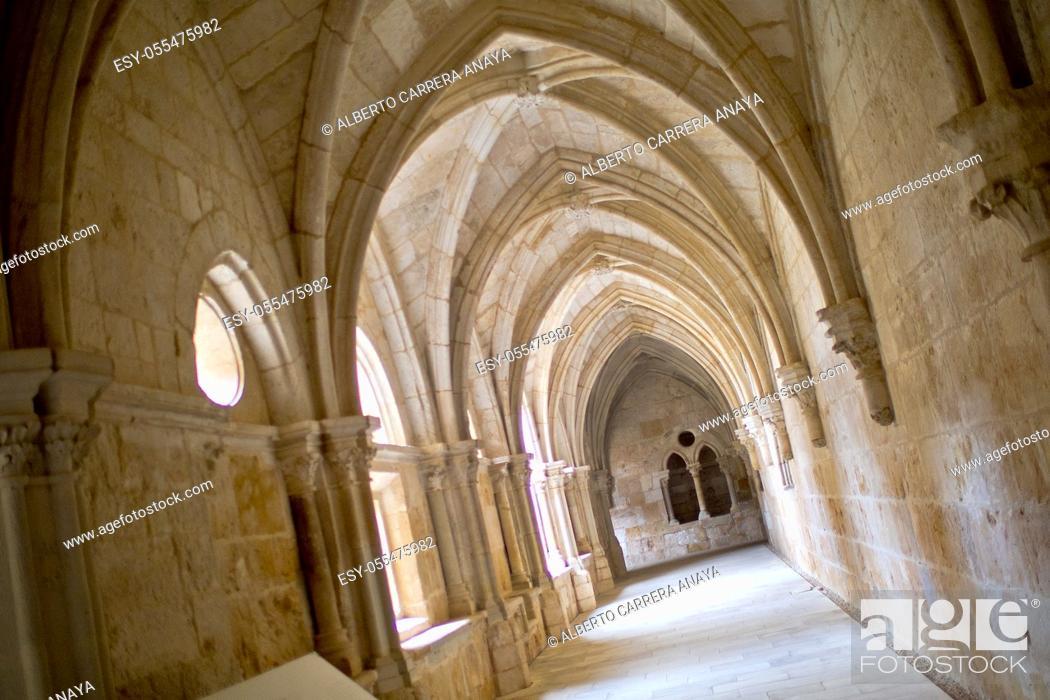 Imagen: Monastery of Santa María de Huerta, Santa María de Huerta, Soria, Castilla y León, Spain, Europe.