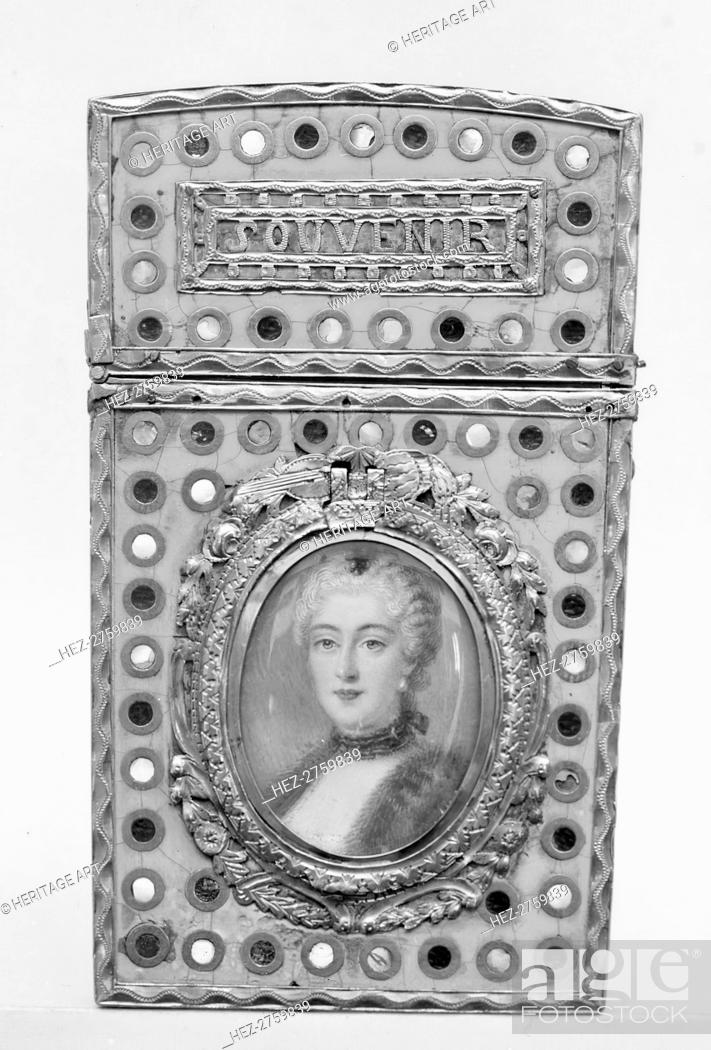 Photo de stock: Souvenir, 1775-81. Creator: Unknown.