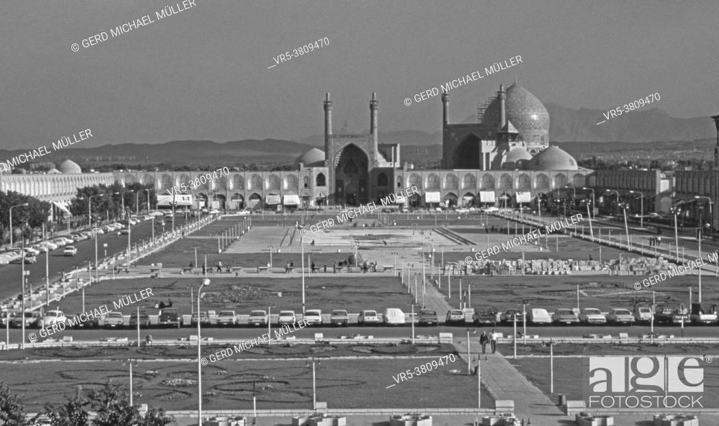 Imagen: Iran: The Masjed-Emam Mosque in Isfahan | Iran: Die Masjed-Emam Moschee auf dem Platz des Imams in Isfahan.