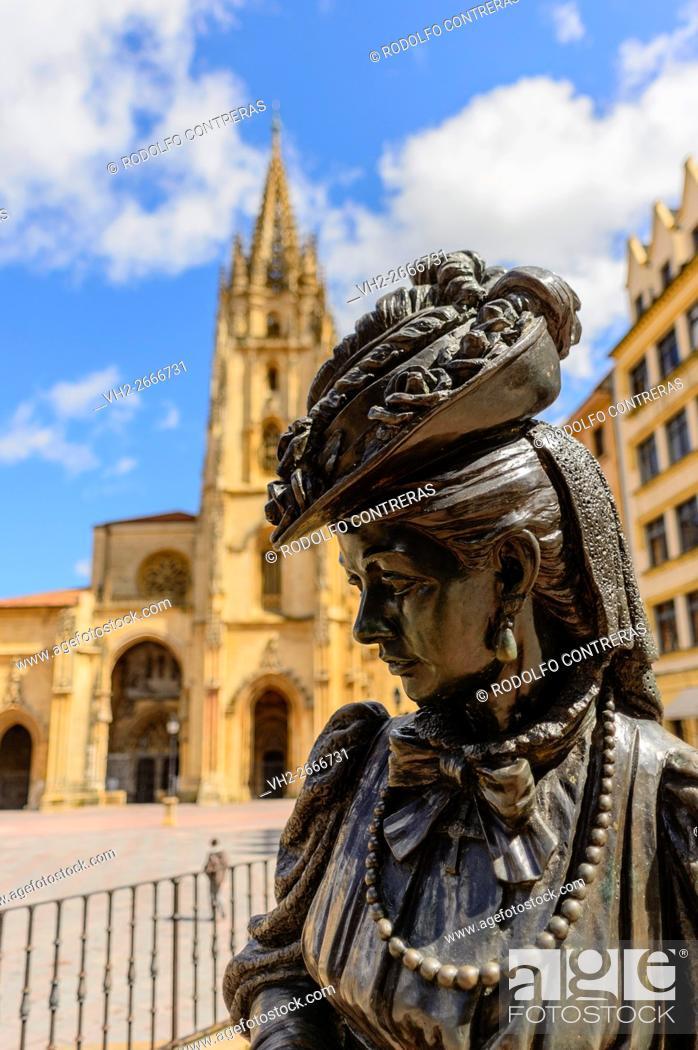 Stock Photo: Oviedo, Asturias.