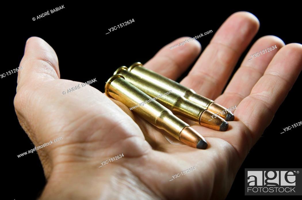 Stock Photo: Ammunition.