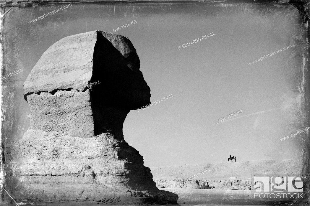 Stock Photo: Sphinx.