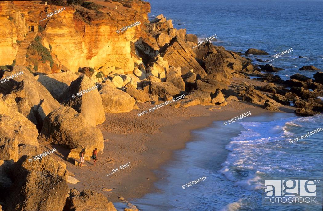 Stock Photo: Spain Andalusia Costa de la Luz Cádiz - Conil de la Frontera - Roche.