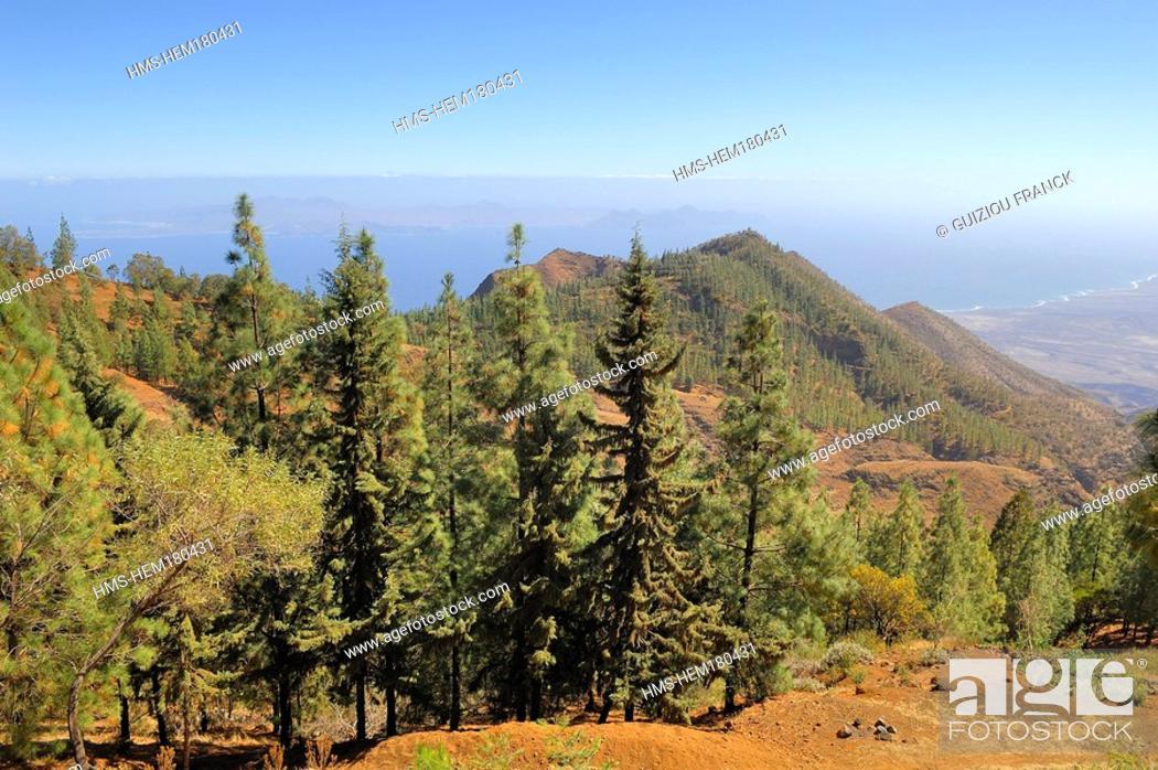 Pico Da Cruz.Cape Verde Santo Antao Island Landscape From Pico Da Cruz