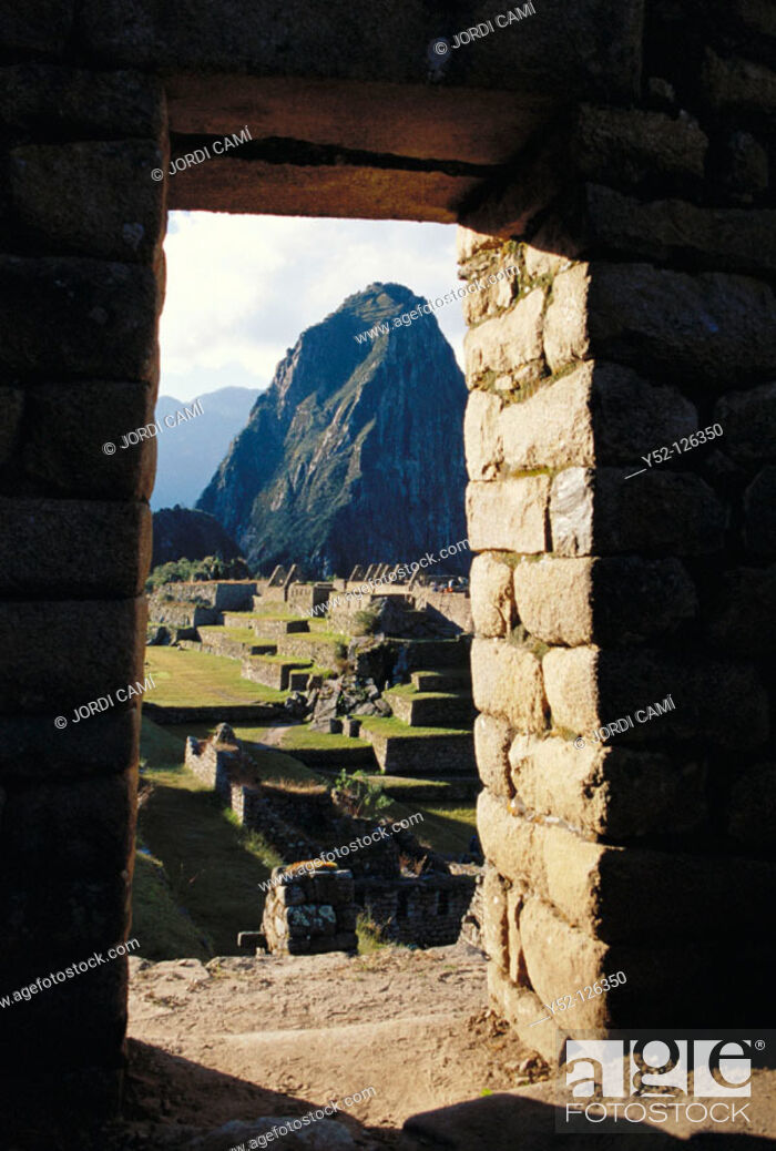 Stock Photo: Machu Picchu. Peru.