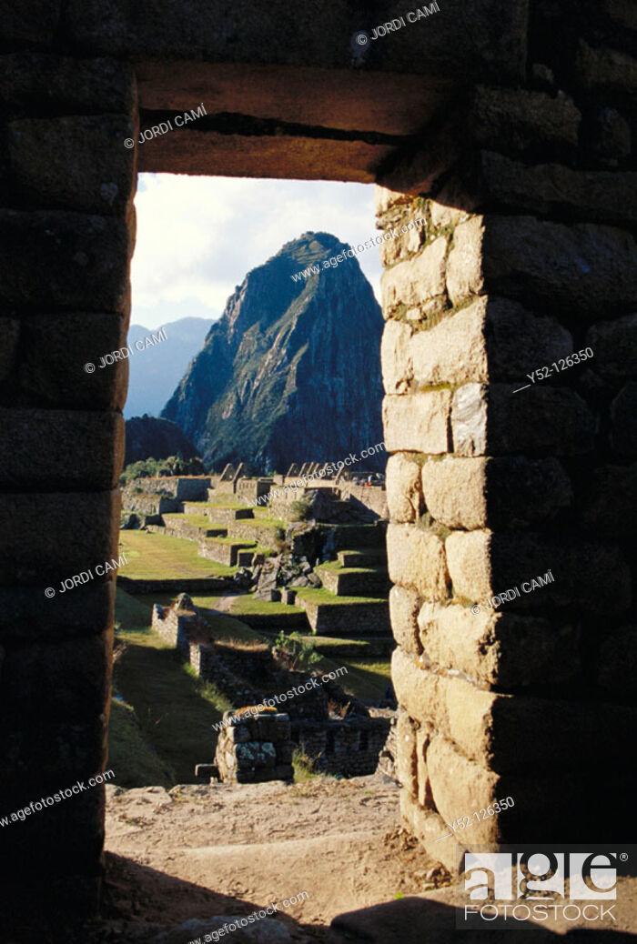 Stock Photo: Machu Picchu. Peru.