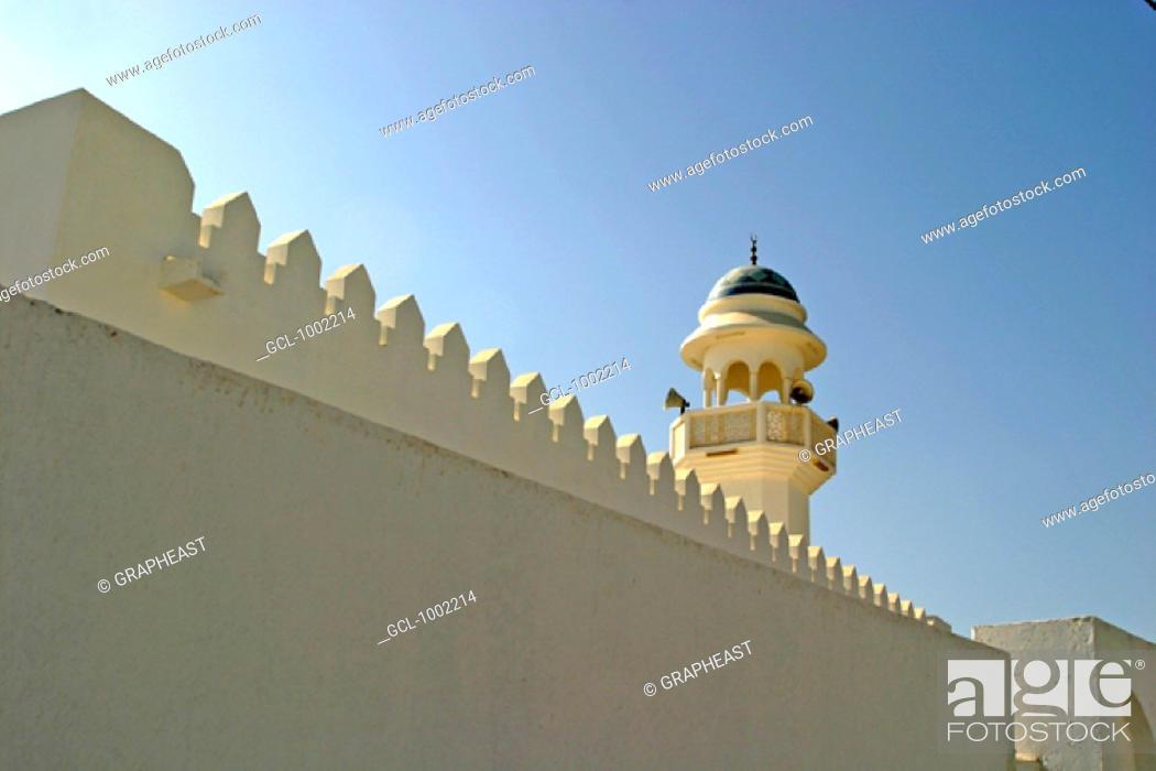 Stock Photo: Maghasar mosque, Oman.