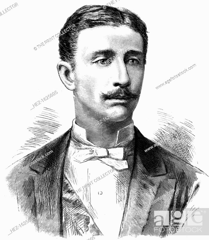 Prince Louis Napoleon, son of the Emperor Napoleon III of