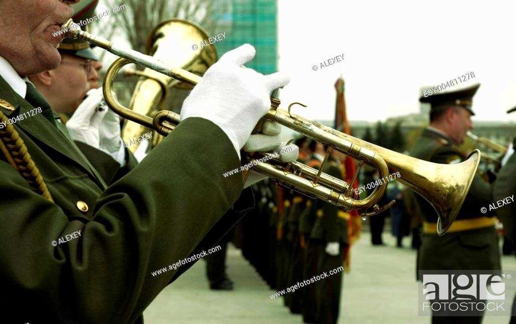 army brass band, Stock Photo, Picture And Low Budget Royalty Free